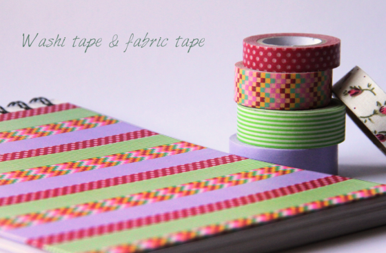 washi tape y fabric tape